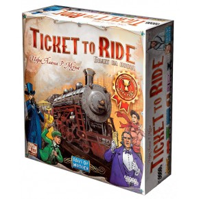 Ticket to Ride (Билет на поезд): Америка