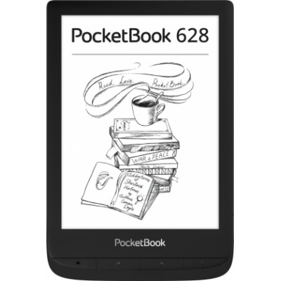 Электронная книга PocketBook 628 (черный)